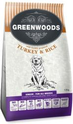 Greenwoods Senior / Light Turkey & Rice 4kg