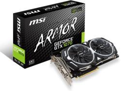 MSI GeForce GTX 1070 8GB GDDR5 256bit PCIe (GTX 1070 ARMOR 8G OC)