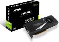 MSI GeForce GTX 1080 8GB GDDR5X 256bit PCIe (GTX 1080 AERO 8G OC)