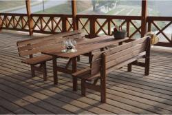 MIRIAM - kerti pad fából 200cm