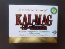 Jó Közérzet Kalcium-Magnézium-D3 kapszula - 30 db
