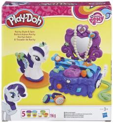 Hasbro Play-Doh - Én kicsi pónim: Rarity szépségszalon gyurmakészlet