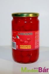 LUCIANO Koktélcseresznye (piros) 750 g