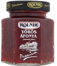 Rolnik Premium vörös áfonya cukrozott lében 300 g