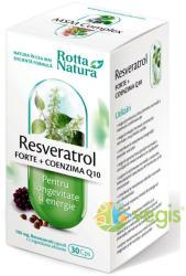 Rotta Natura Resveratrol Forte cu Coenzima Q10 - 30 comprimate