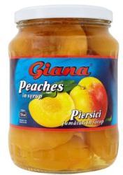 Giana Őszibarack enyhén cukrozott lében 700 g