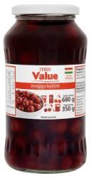 TESCO Value meggybefőtt 680 g