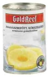 GOLD REEF Szeletelt ananász konzerv cukor nélkül 425 g