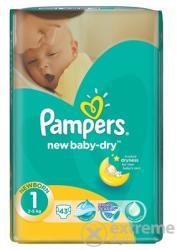 Pampers New Baby Dry újszülött pelenka, 43db