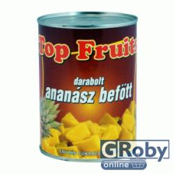 Top Fruits Darabolt ananász befõtt 565 g