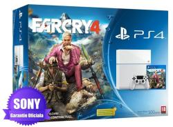 Sony PlayStation 4 Glacier White 500GB (PS4 500GB) + Far Cry 4