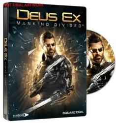 Square Enix Deus Ex Mankind Divided [Steelbook Edition] (Xbox One)