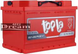 Topla Energy 75Ah 750A jobb+