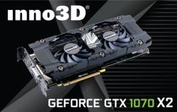 Inno3D GeForce GTX 1070 TWIN X2 8GB GDDR5 256bit PCIe (N1070-1SDN-P5DN)