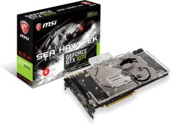 MSI GeForce GTX 1070 8GB GDDR5 256bit PCIe (GTX 1070 SEA HAWK EK X)