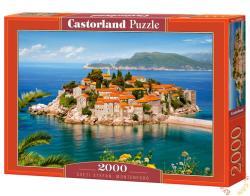 Castorland Sveti Stefan, Montenegró 2000 db-os (C-200580)