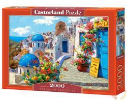 Castorland Tavasz Santoriniben 2000 db-os (C-200603)