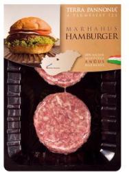 TERRA PANNONIA Marhahús hamburger pogácsa 250g