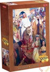 TACTIC Solomon puzzle - Jézus megérkezése Jeruzsálembe 1000 db-os (40074)