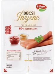 Sága Bécsi Ínyenc füstízű pulyakvirsli 2 x 180g