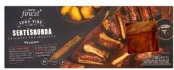 TESCO Finest Sous-Vide chicagói fűszerezésű sertésborda BBQ szósszal 370g + 50g