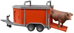 BRUDER Remorca transport bovine cu figurina (2029)
