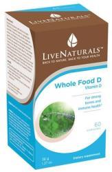 LiveNaturals D-vitamin kapszula - 60 db