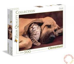Clementoni Kutya és cica 500 db-os (35020)
