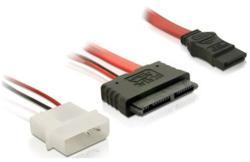 Delock Micro SATA + 2-pin Power-SATA 30cm 84384