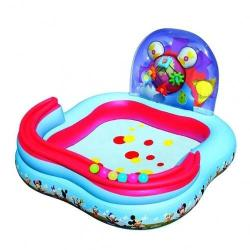 Bestway Piscina de Joaca Mickey Mouse Clubhouse 91015