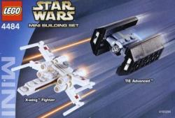 LEGO Star Wars - X-Wing Fighter & TIE Advanced (4484)