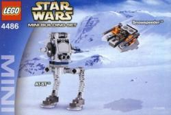 LEGO Star Wars - AT-ST Snowspeeder (4486)