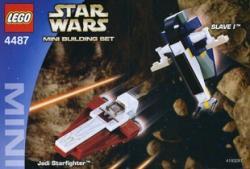 LEGO Star Wars - Jedi Starfighter Slave I (4487)