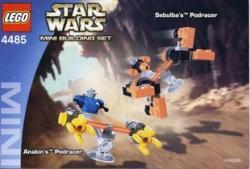 LEGO Star Wars - Sebulba's Podracer Anakin's Podracer (4485)