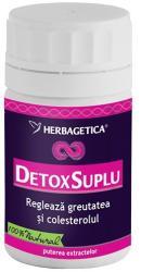 Herbagetica Detox Suplu - 30 comprimate