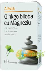 Alevia Ginkgo Biloba cu Magneziu - 60 comprimate