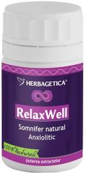 Herbagetica Relax Well - 30 comprimate