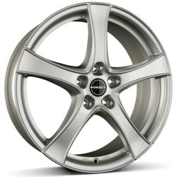 Borbet F2 brilliant silver CB72.5 5/114.3 16x6 ET45
