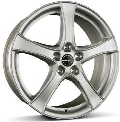 Borbet F2 brilliant silver CB67.1 5/114.3 17x6.5 ET45