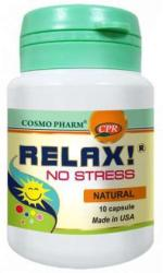 Cosmo Pharm Relax! No stress - 10 comprimate