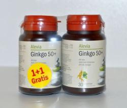 Alevia Ginkana Ginkgo 50+ - 30 comprimate