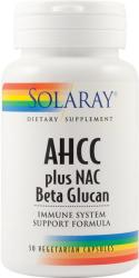 SOLARAY AHCC plus NAC Beta Glucan - 30 comprimate