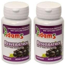 Adams Vision Resveratrol 50mg - 30 comprimate