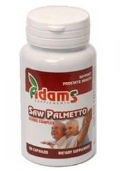 Adams Vision Saw Palmetto 500mg - 60 comprimate