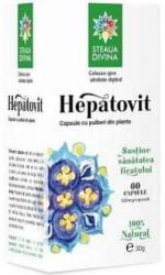 Steaua Divina Hepatovit - 60 comprimate