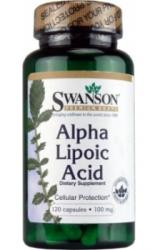 Vitaking Alpha Lipoic Acid 100mg - 120 comprimate