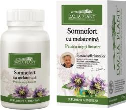 DACIA PLANT Somnofort cu melatonina - 60 comprimate