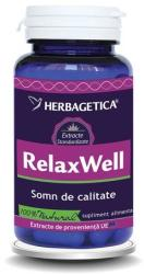 Herbagetica Relax Well - 60 comprimate