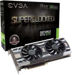 EVGA GeForce GTX 1070 SC GAMING ACX 3.0 8GB GDDR5 256bit PCI-E (08G-P4-6173-KR)