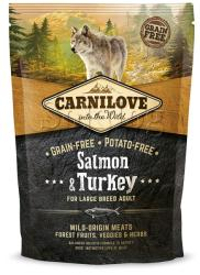 CARNILOVE Adult Large - Salmon & Turkey 1,5kg